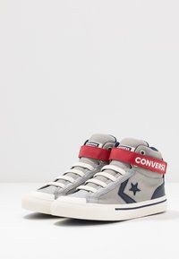 Converse - PRO BLAZE STRAP - High-top trainers - dolphin/obsidian/turtledove - 2