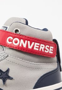 Converse - PRO BLAZE STRAP - High-top trainers - dolphin/obsidian/turtledove - 5