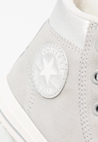 Converse - CHUCK TAYLOR ALL STAR BOOT - High-top trainers - ash grey/pure silver/egret - 5