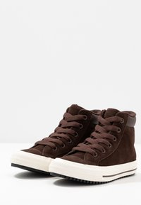 Converse - CHUCK TAYLOR ALL STAR BOOT - High-top trainers - burnt umber/egret - 3