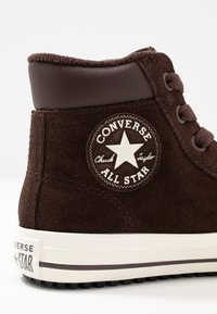 Converse - CHUCK TAYLOR ALL STAR BOOT - High-top trainers - burnt umber/egret - 2