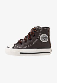 Converse - CHUCK TAYLOR ALL STAR TUMBLED - Sneakers alte - velvet brown/campfire orange - 1