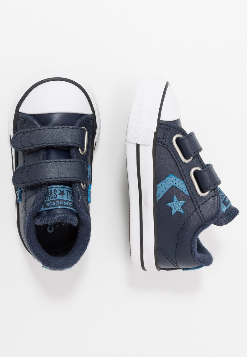 Converse - STAR PLAYER - Sneakers - obsidian/aegean storm/white