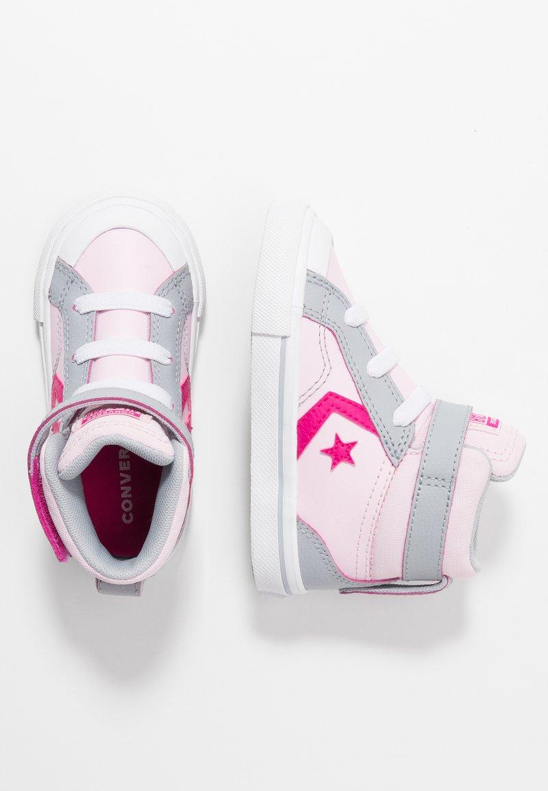 Converse - PRO BLAZE STRAP - Zapatillas altas - pink foam/wolf grey/prime pink