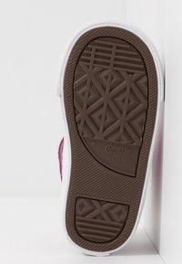 Converse - PRO BLAZE STRAP - Zapatillas altas - pink foam/wolf grey/prime pink - 5