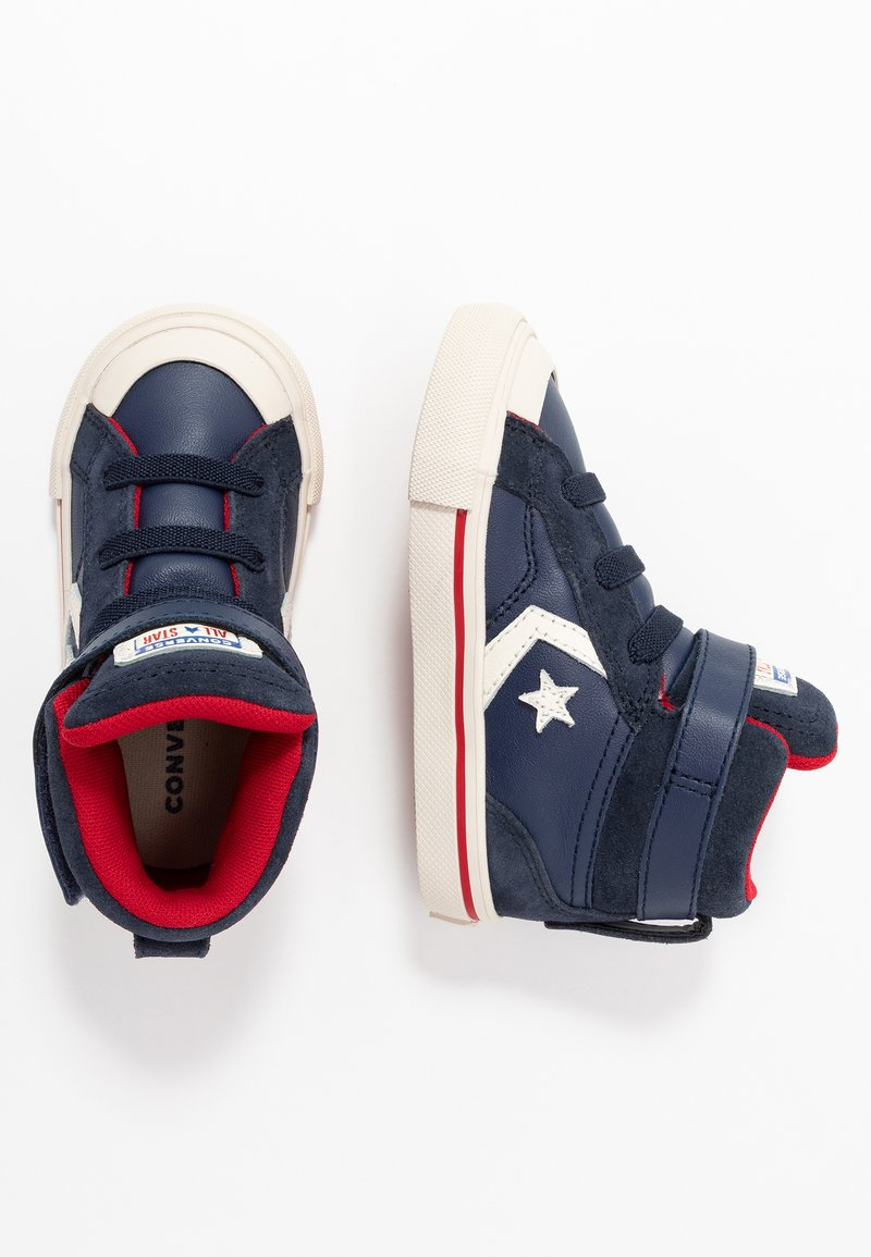 Converse - PRO BLAZE STRAP - Sneakers high - midnight navy/obsidian/gym red