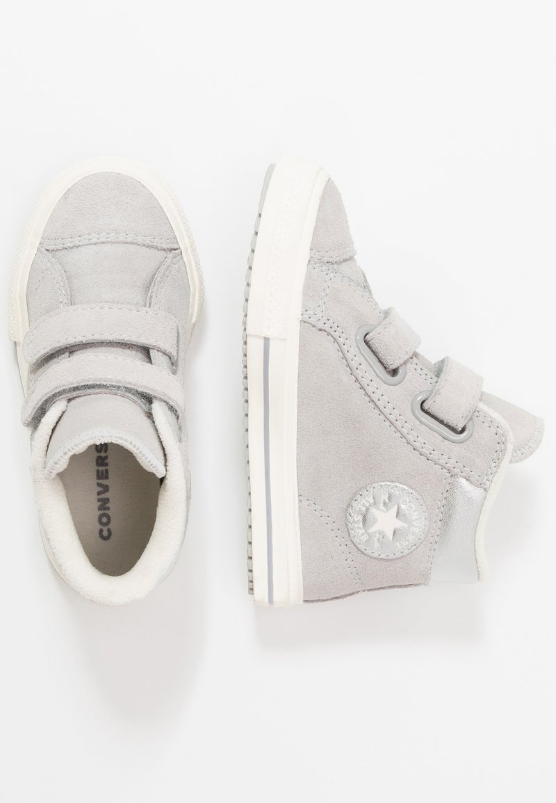 Converse - CHUCK TAYLOR ALL STAR - Sneaker high - ash grey/pure silver/egret