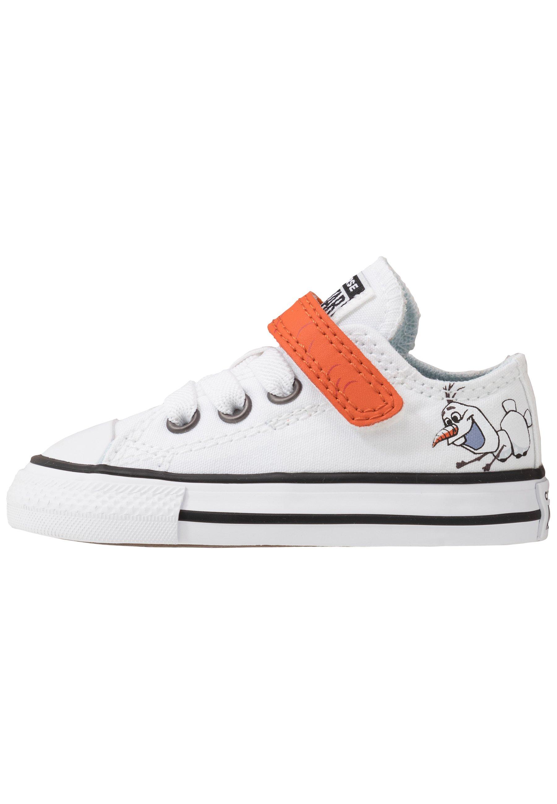 CHUCK TAYLOR ALL STAR FROZEN Sneakersy niskie whiteillusion bluecampfire orange
