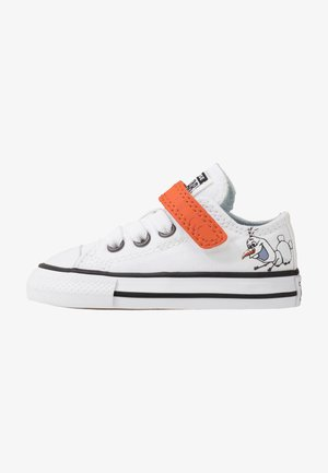 CHUCK TAYLOR ALL STAR FROZEN - Sneakersy niskie - white/illusion blue/campfire orange