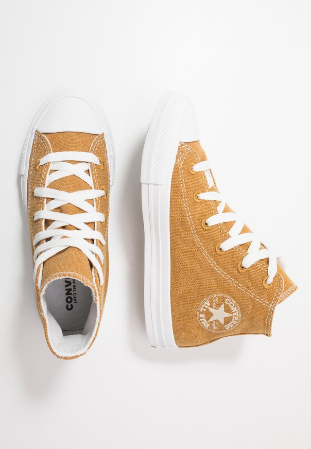 CHUCK TAYLOR ALL STAR RENEW - Zapatillas altas - wheat/natural/white