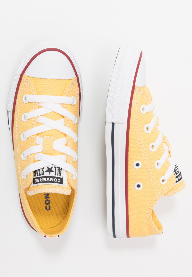Converse - CHUCK TAYLOR ALL STAR TWISTED VARSITY - Sneakers basse - topaz gold/garnet/white