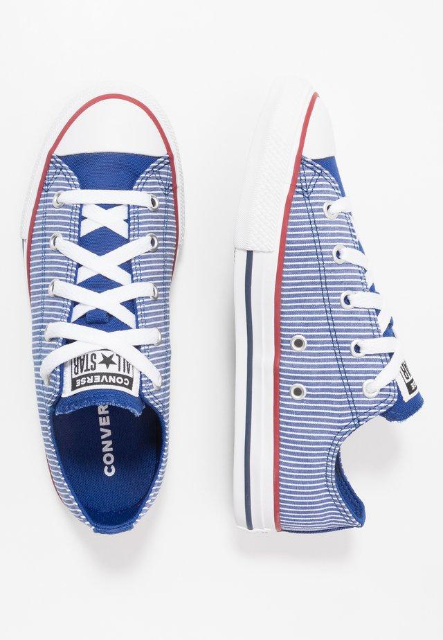 CHUCK TAYLOR ALL STAR PINSTRIPE - Trainers - rush blue/garnet/white