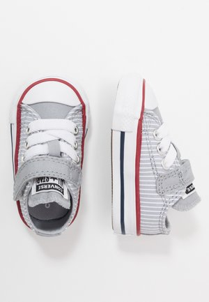 CHUCK TAYLOR ALL STAR PINSTRIPE - Sneakers laag - wolf grey/garnet/white