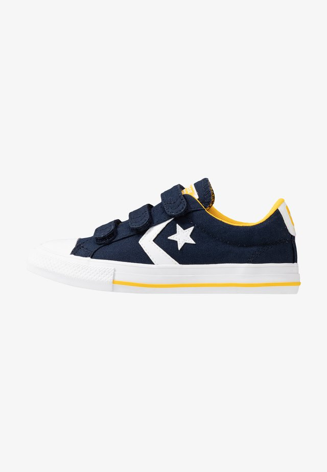 STAR PLAYER - Sneakersy niskie - obsidian/amarillo/white