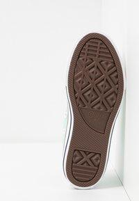 Converse - CHUCK TAYLOR ALL STAR TWISTED VARSITY - Sneakers basse - ocean mint/garnet/white - 5