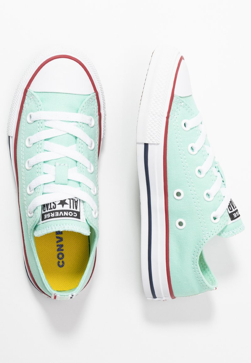 Converse - CHUCK TAYLOR ALL STAR TWISTED VARSITY - Sneakers laag - ocean mint/garnet/white