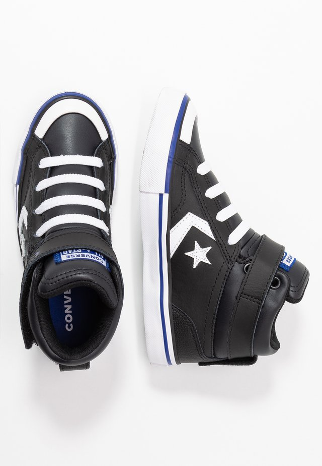PRO BLAZE STRAP VARSITY - High-top trainers - black/rush blue/white