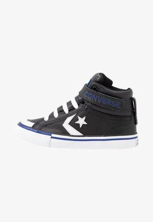 PRO BLAZE STRAP VARSITY - High-top trainers - black/rush blue/white