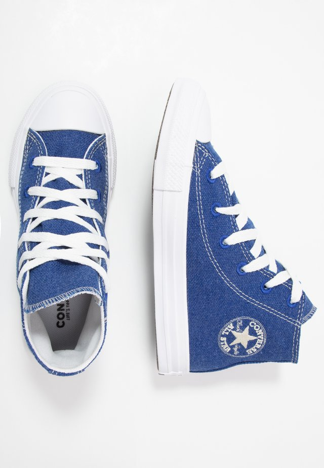 CHUCK TAYLOR ALL STAR RENEW - High-top trainers - rush blue/natural/white