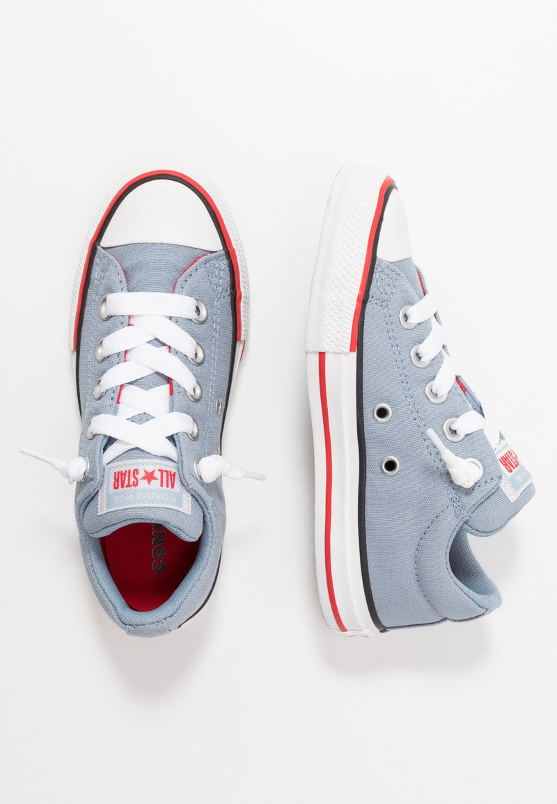 Converse - CHUCK TAYLOR ALL STAR STREET VARSITY - Baskets basses - blue slate/white/university red
