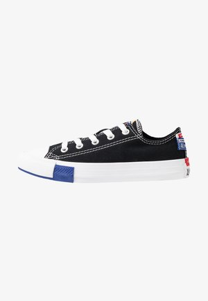 CHUCK TAYLOR ALL STAR LOGO PLAY - Sneakers basse - black/rush blue/university red