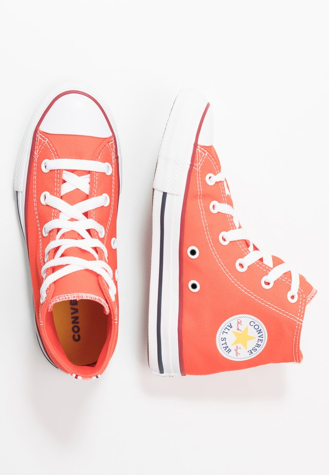 CHUCK TAYLOR ALL STAR TWISTED VARSITY - High-top trainers - vermillion red/garnet/white
