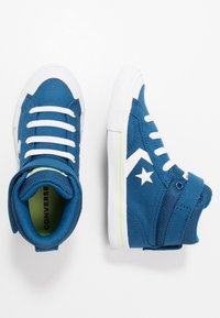 Converse - PRO BLAZE STRAP - Zapatillas altas - court blue/white/lemongrass - 0