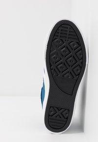 Converse - PRO BLAZE STRAP - Zapatillas altas - court blue/white/lemongrass - 5