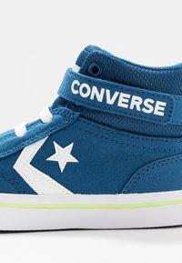 Converse - PRO BLAZE STRAP - Zapatillas altas - court blue/white/lemongrass - 2