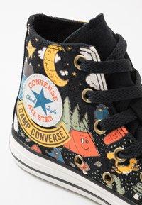 Converse - CHUCK TAYLOR ALL STAR - Vysoké tenisky - black/bold mandarin/amarillo - 2
