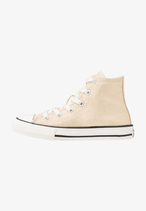 CHUCK TAYLOR ALL STAR - Korkeavartiset tennarit - egret/black/vintage white