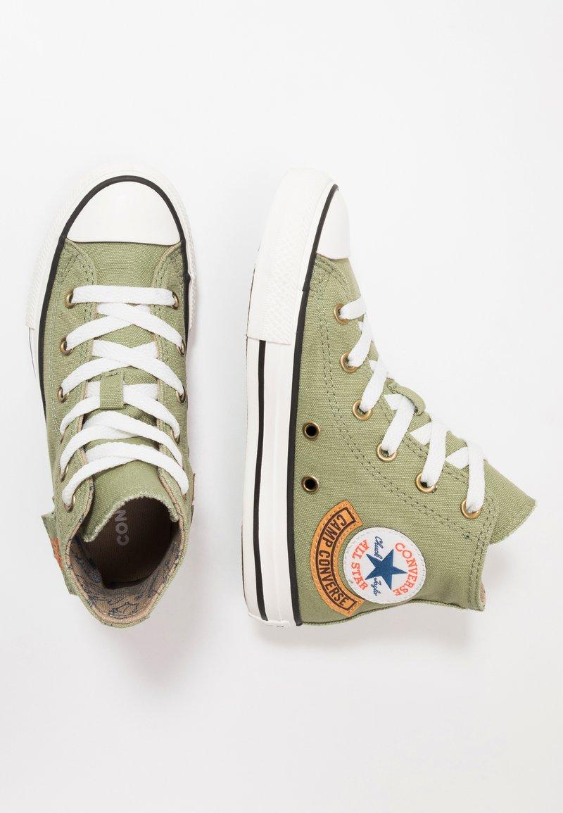 Converse - CHUCK TAYLOR ALL STAR POCKET - Sneakers alte - street sage/khaki