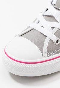 Converse - CHUCK TAYLOR ALL STAR - Zapatillas altas - dolphin/white/cerise pink - 2