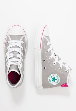 CHUCK TAYLOR ALL STAR - Sneakers hoog - dolphin/white/cerise pink