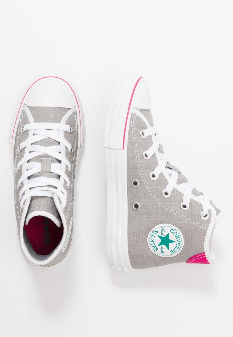 Converse - CHUCK TAYLOR ALL STAR - Zapatillas altas - dolphin/white/cerise pink