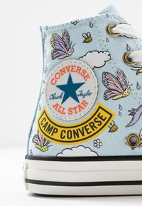 Converse - CHUCK TAYLOR ALL STAR - High-top trainers - agate blue/vintage white/black - 2