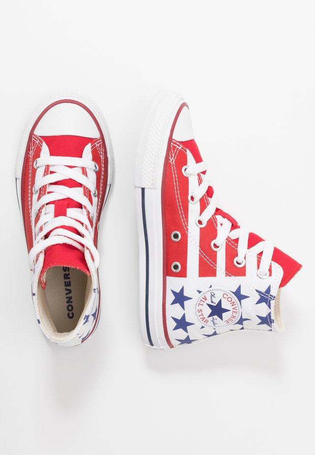CHUCK TAYLOR ALL STAR - Zapatillas altas - white/red/navy
