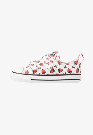 CHUCK TAYLOR ALL STAR - Matalavartiset tennarit - white/garnet