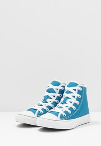 Converse - CHUCK TAYLOR ALL STAR - Sneakersy wysokie - egyptian blue/white - 3