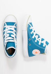 Converse - CHUCK TAYLOR ALL STAR - Sneakersy wysokie - egyptian blue/white - 0
