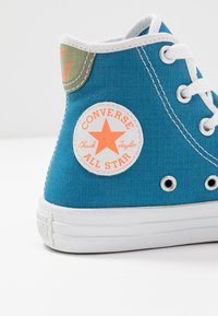 Converse - CHUCK TAYLOR ALL STAR - Sneakersy wysokie - egyptian blue/white - 2