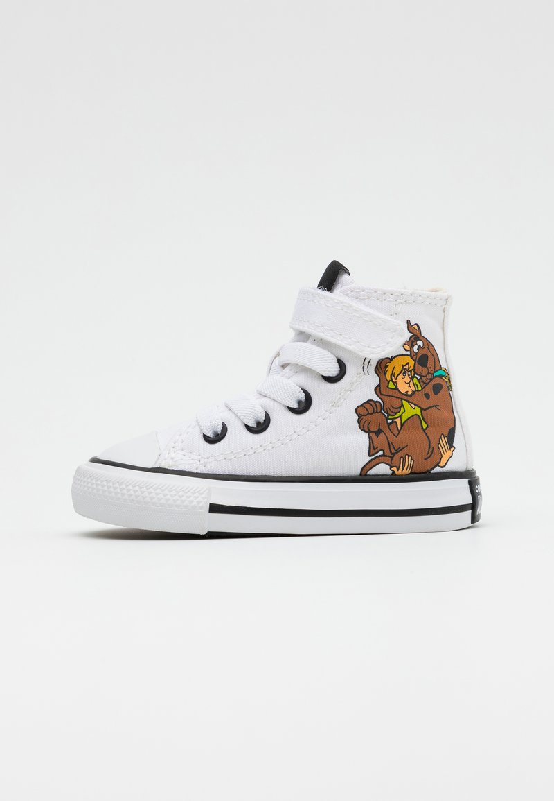 Converse - CHUCK TAYLOR SCOOBY MYSTERY INC - Sneakersy wysokie - white/multicolor/black
