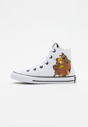CHUCK TAYLOR SCOOBY MYSTERY VS VILLANS - Sneakersy wysokie - white/multicolor/black