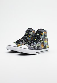 Converse - CHUCK TAYLOR SCOOBY MYSTERY MACHINE - Vysoké tenisky - almost black/white/multicolor - 1