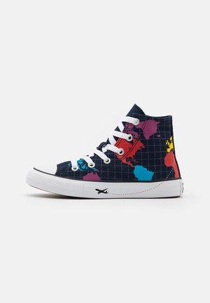 CHUCK TAYLOR ALL STAR WORLDWIDE UNISEX - Sneaker high - obsidian/sail blue/university red