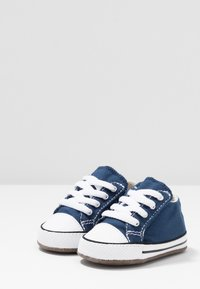 Converse - CHUCK TAYLOR ALL STAR CRIBSTER MID - Babyschoenen - navy/natural ivory/white - 3