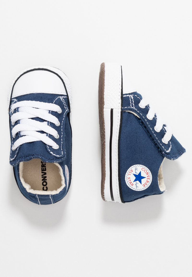 Converse - CHUCK TAYLOR ALL STAR CRIBSTER MID - Ensiaskelkengät - navy/natural ivory/white