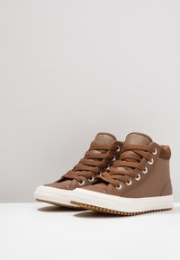 Converse - CHUCK TAYLOR ALL STAR - Sneakers alte - chestnut brown/burnt caramel - 3