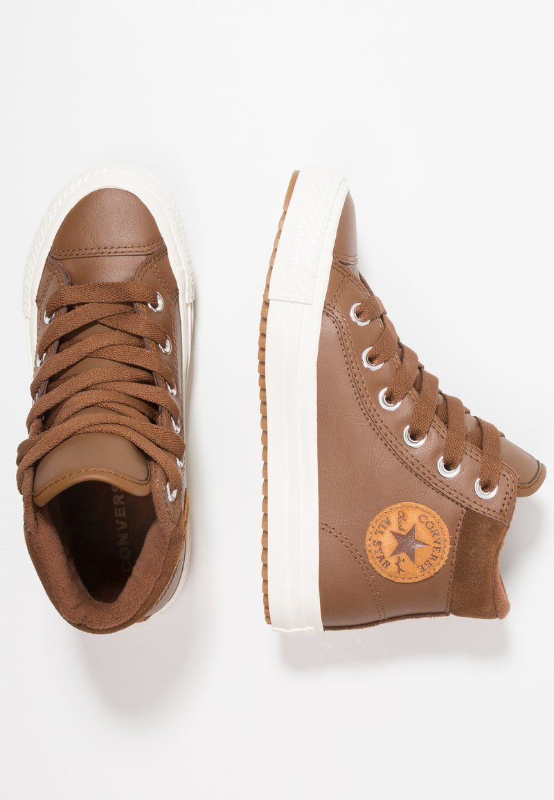 Converse - CHUCK TAYLOR ALL STAR - Sneakers alte - chestnut brown/burnt caramel