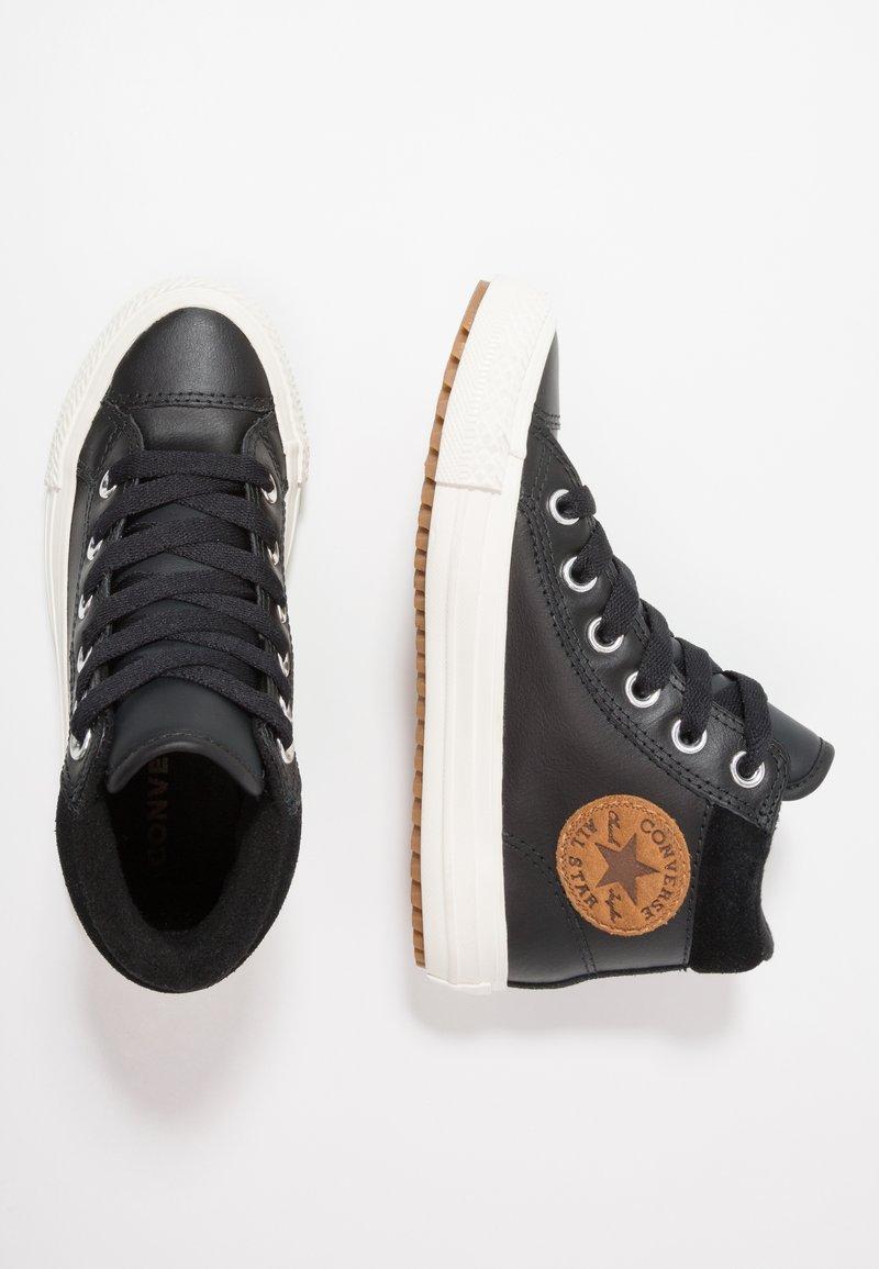 Converse - CHUCK TAYLOR ALL STAR - Sneakers high - black/burnt caramel